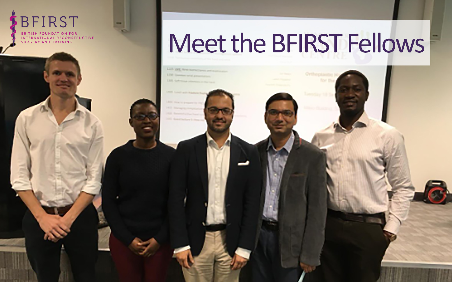 Meet The New BFIRST Fellows!
