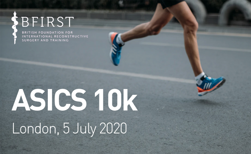 Support BFIRST In The 2020 London ASICS 10k Run!